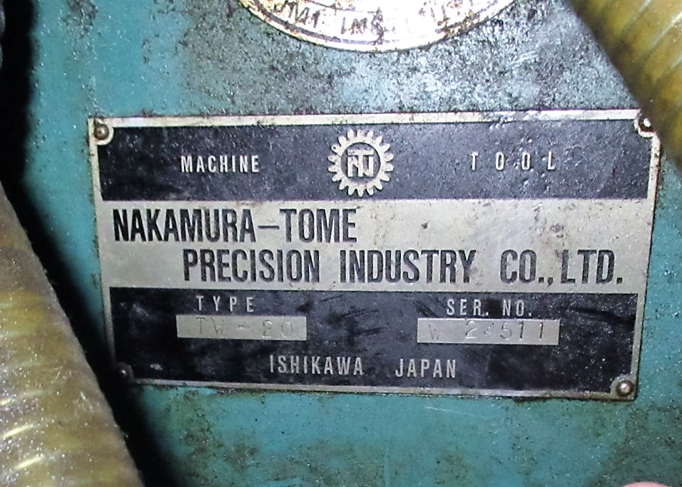 NAKAMURA TOME TW-20 6-AXIS CNC TWIN SPINDLE TURNING CENTER - Image 15 of 17