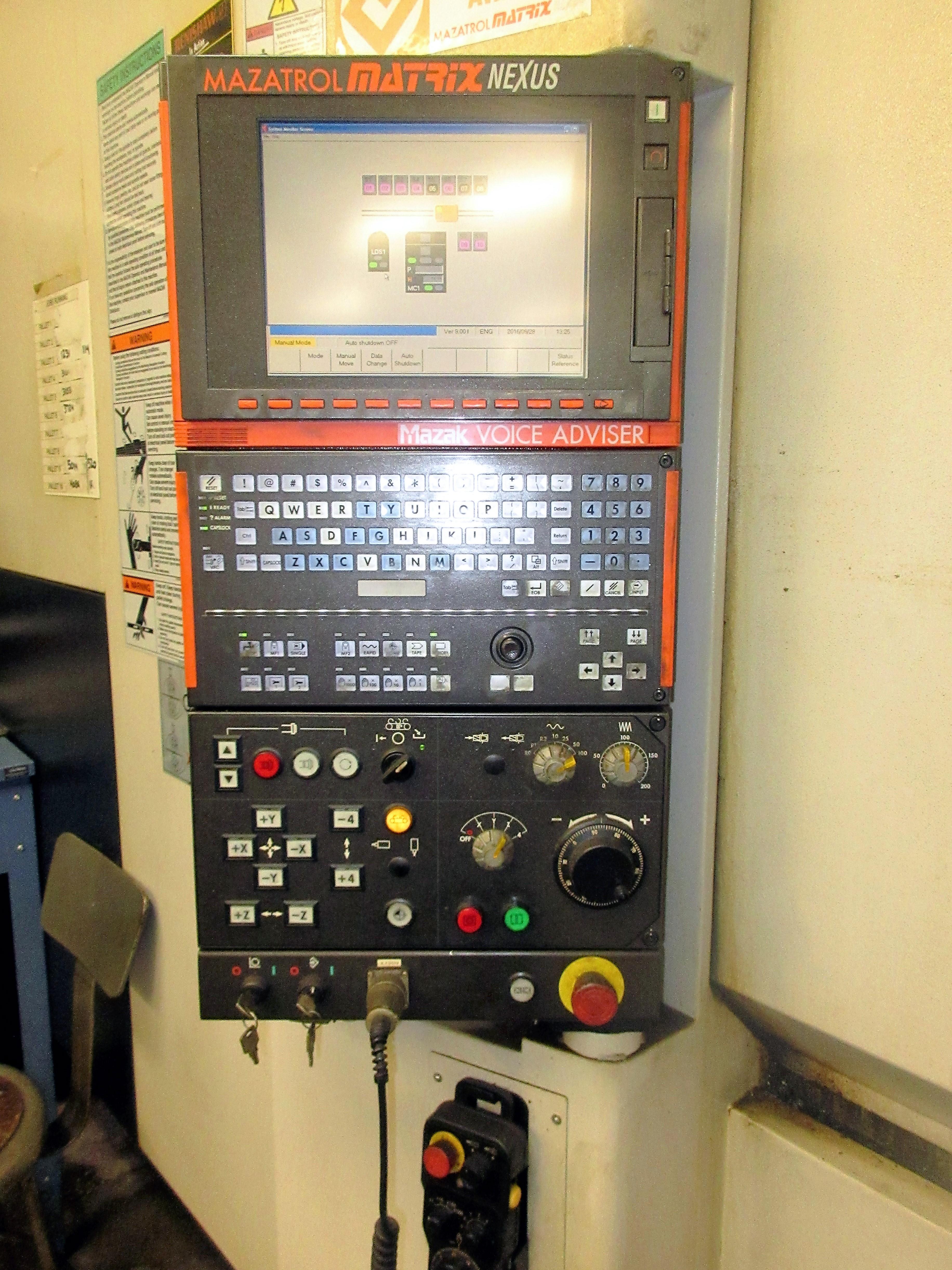 Mazak HCN-6000-II CNC Horizontal Machining Center With Palletech System - Image 4 of 22