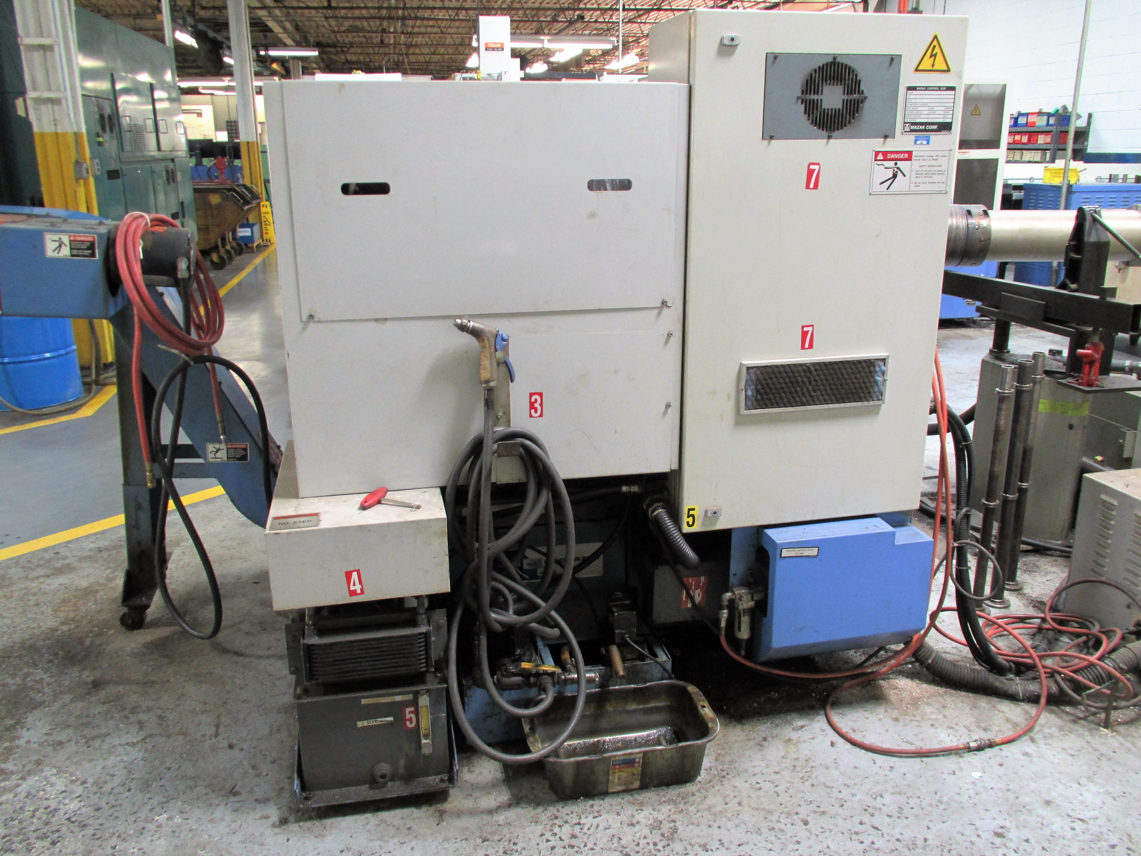 MAZAK QT-200 CNC TURNING CENTER - Image 7 of 14