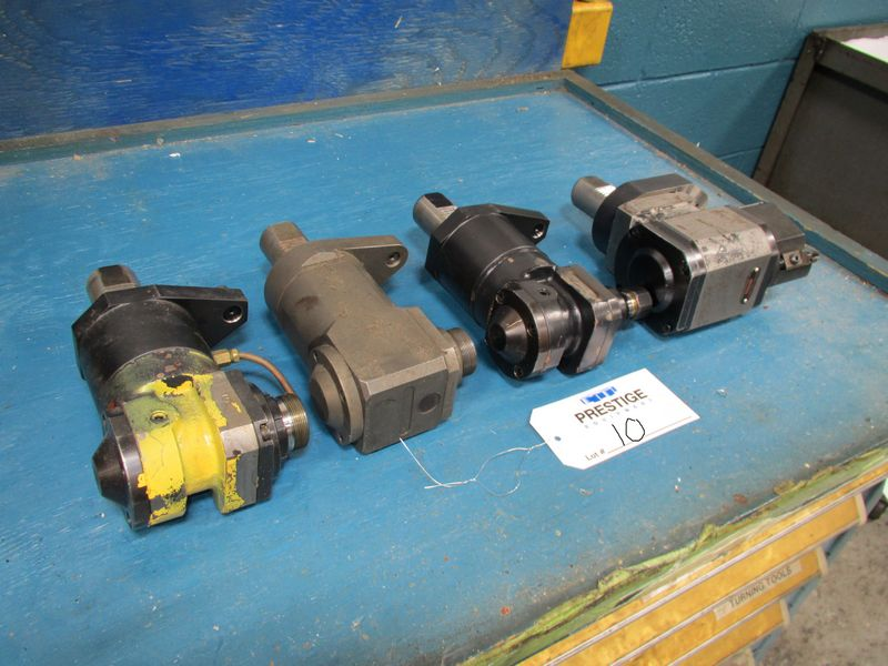 (4) Live Tool Holders For Mazak Multiplex 6200Y CNC Turning Center - Image 2 of 2