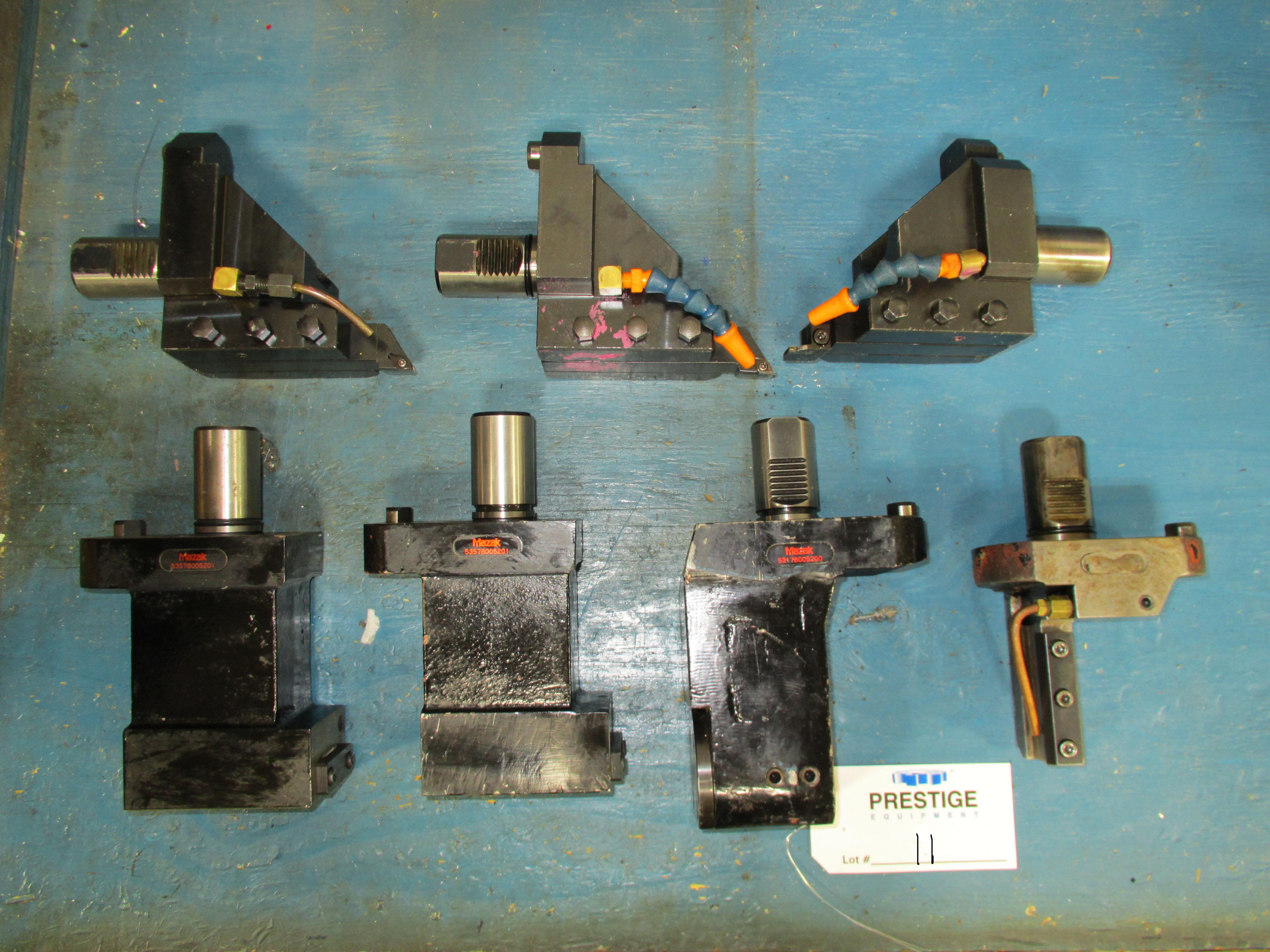 (7) O.D & I.D. Tool Holders For Mazak Multiplex 6200Y CNC Turning Center