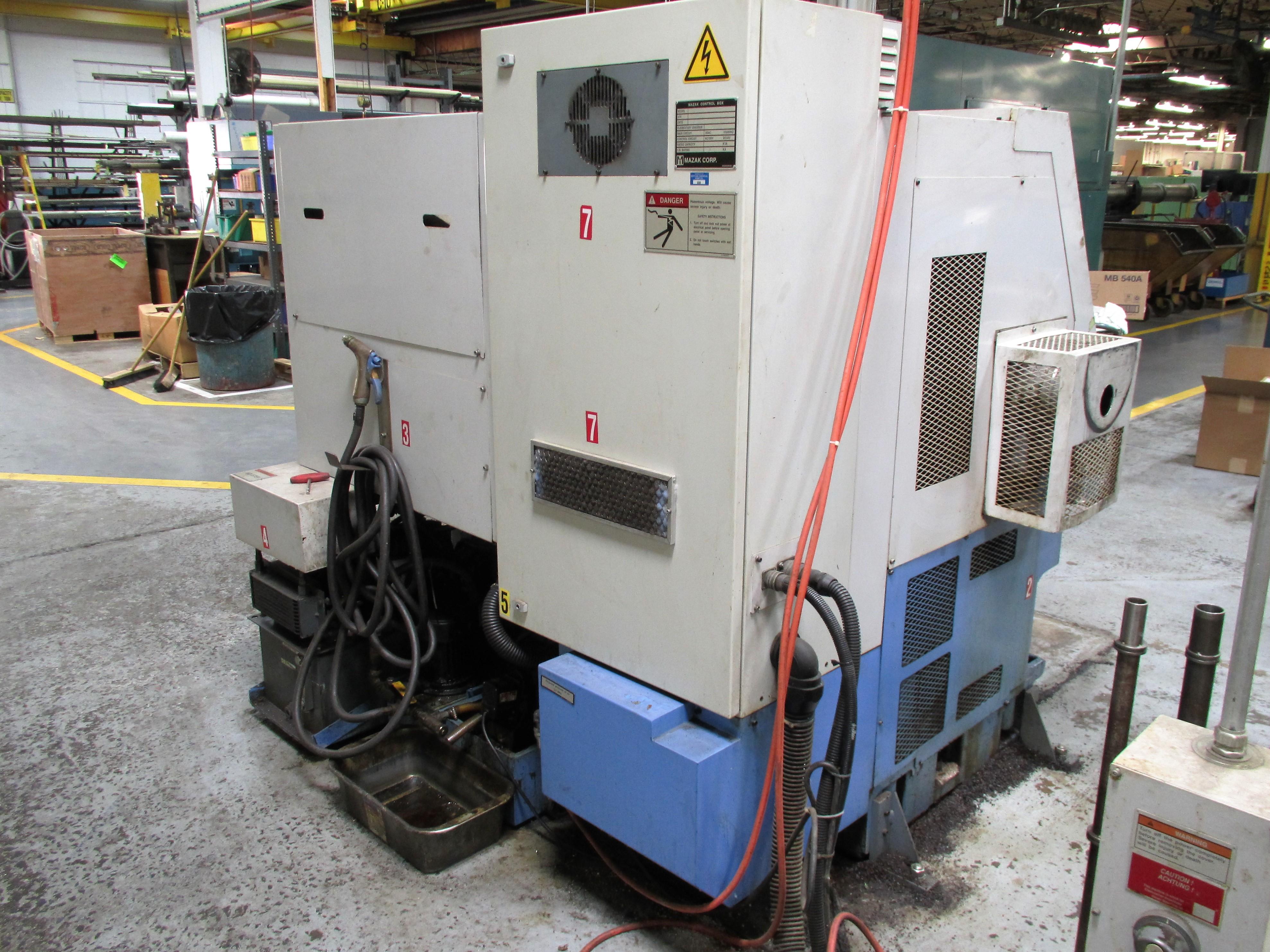 MAZAK QT-200 CNC TURNING CENTER - Image 8 of 14