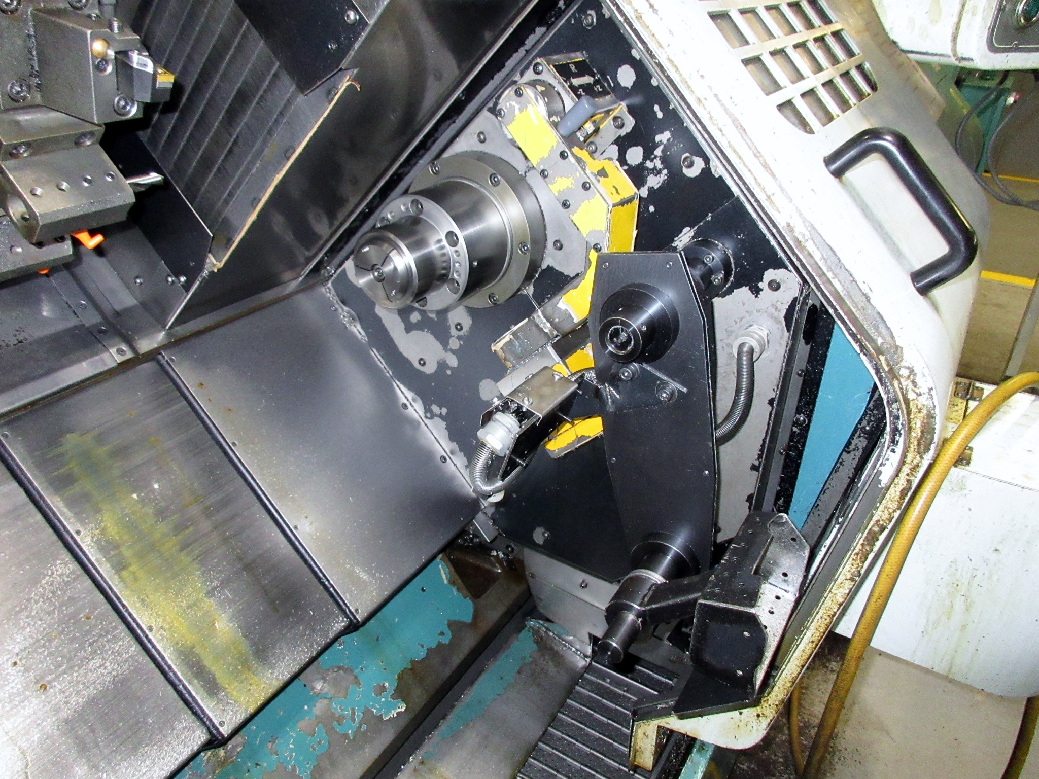 NAKAMURA TOME TW-20 6-AXIS CNC TWIN SPINDLE TURNING CENTER - Image 7 of 17
