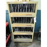 CAT-40 Tool Holders with 4-Drawer Stanley Vidmar Cabinet