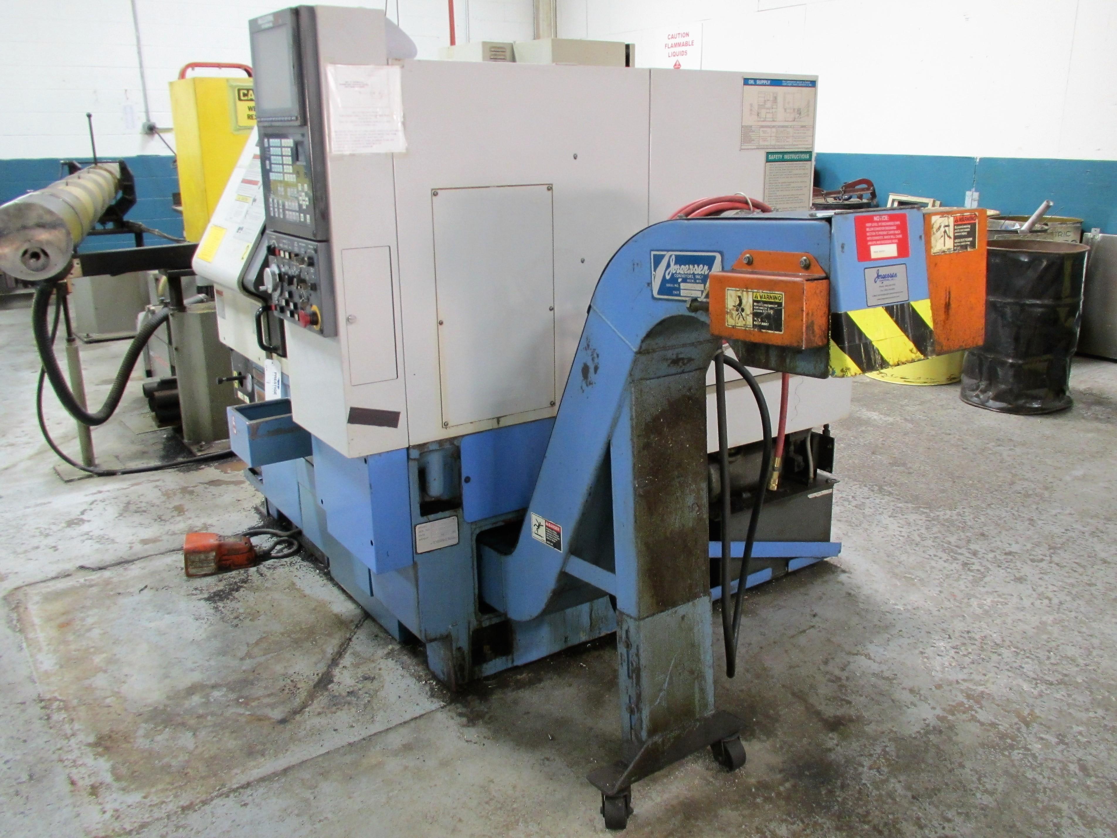MAZAK QT-200 CNC TURNING CENTER - Image 6 of 14