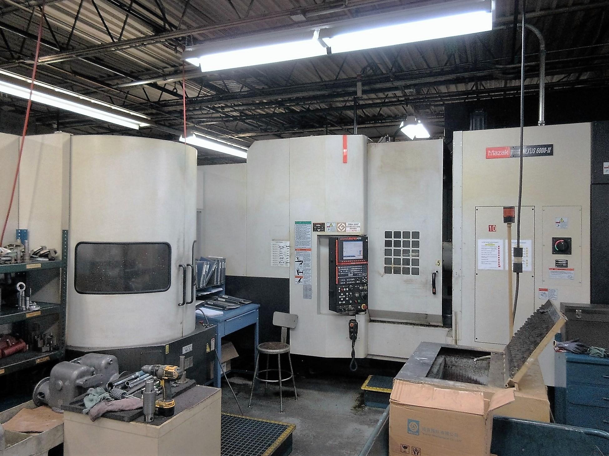 Mazak HCN-6000-II CNC Horizontal Machining Center With Palletech System - Image 2 of 22