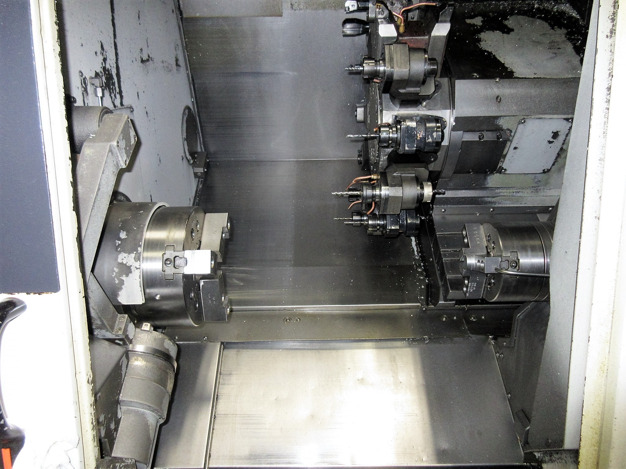 MAZAK QUICK TURN NEXUS 250-II MSY CNC TURNING CENTER - Image 7 of 16