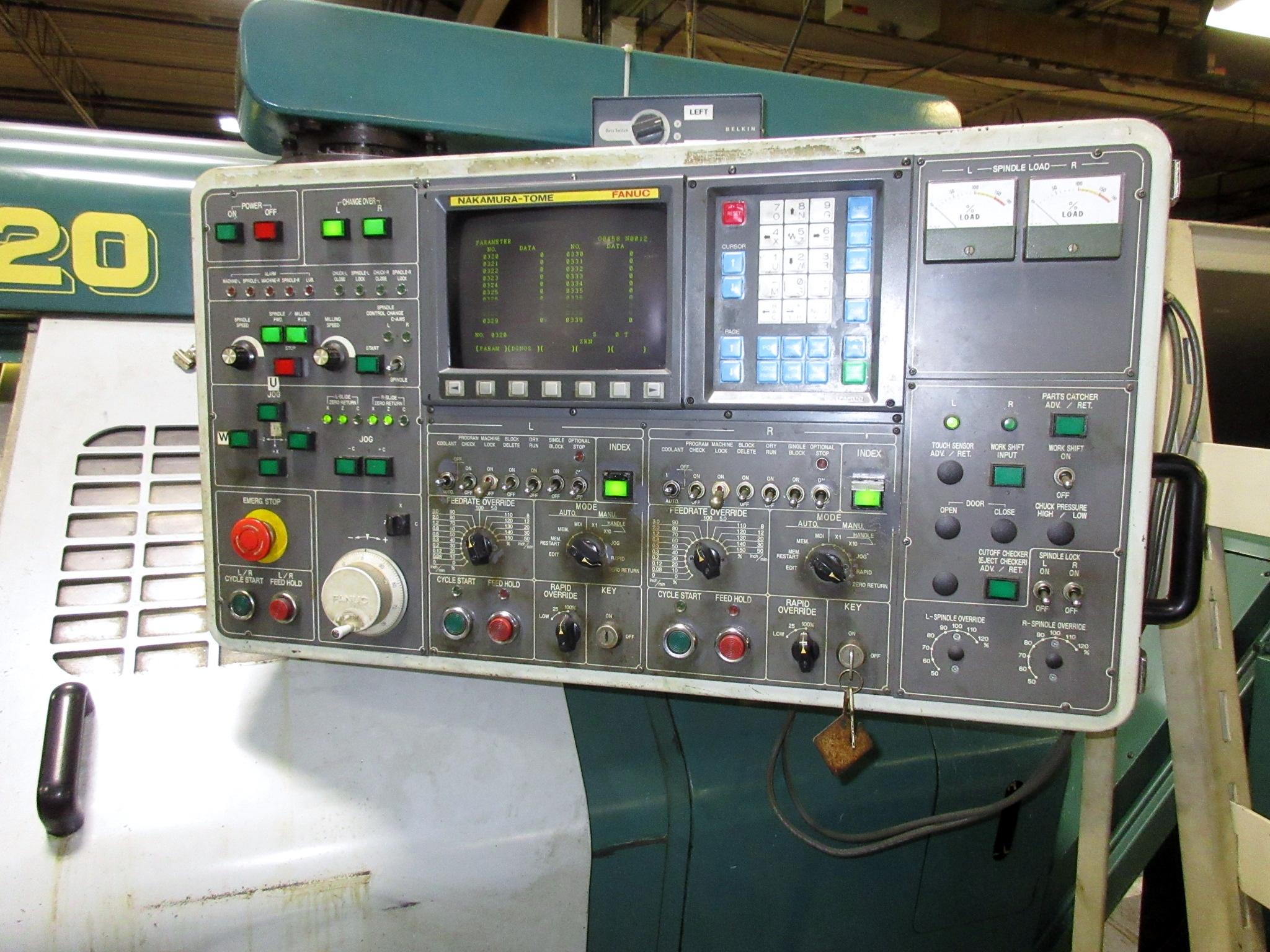 NAKAMURA TOME TW-20 6-AXIS CNC TWIN SPINDLE TURNING CENTER - Image 4 of 17