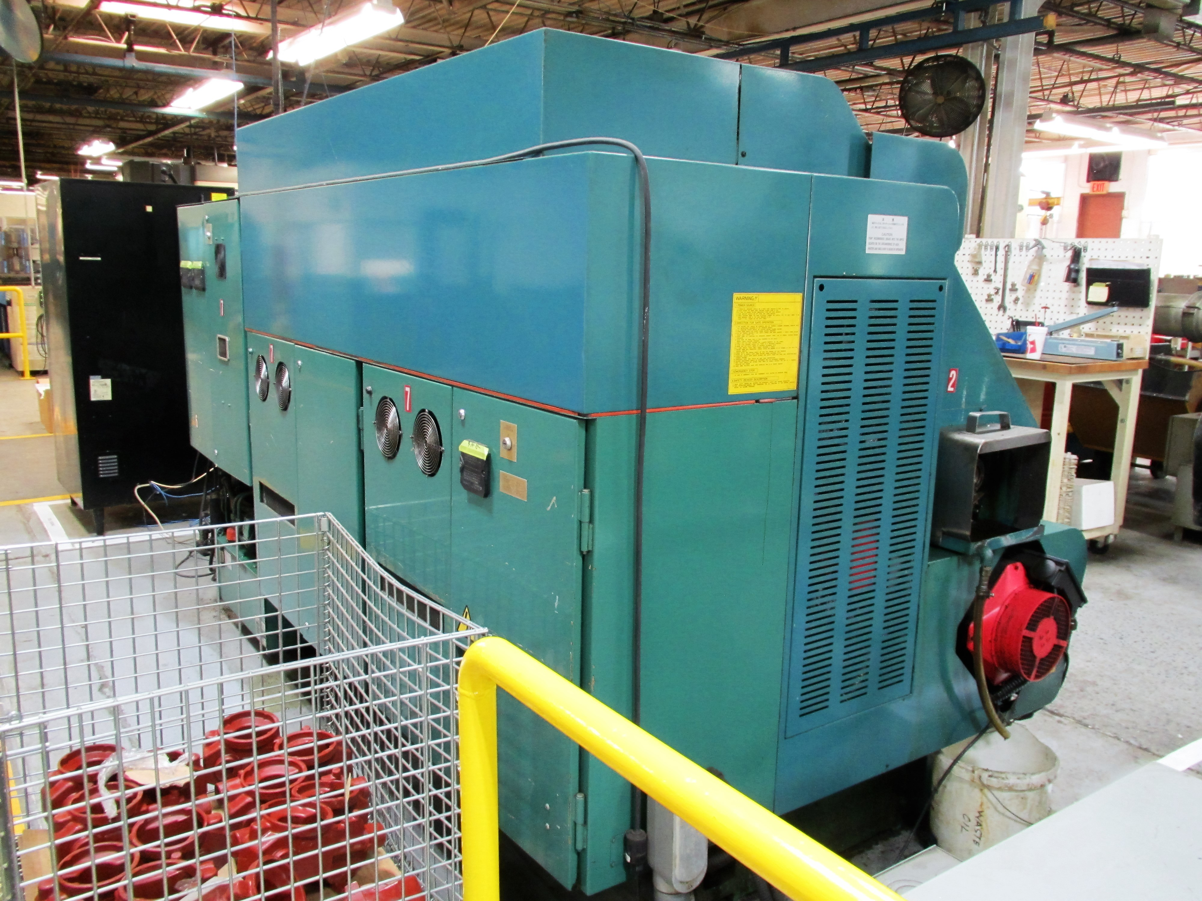 NAKAMURA TOME TW-20 6-AXIS CNC TWIN SPINDLE TURNING CENTER - Image 9 of 17