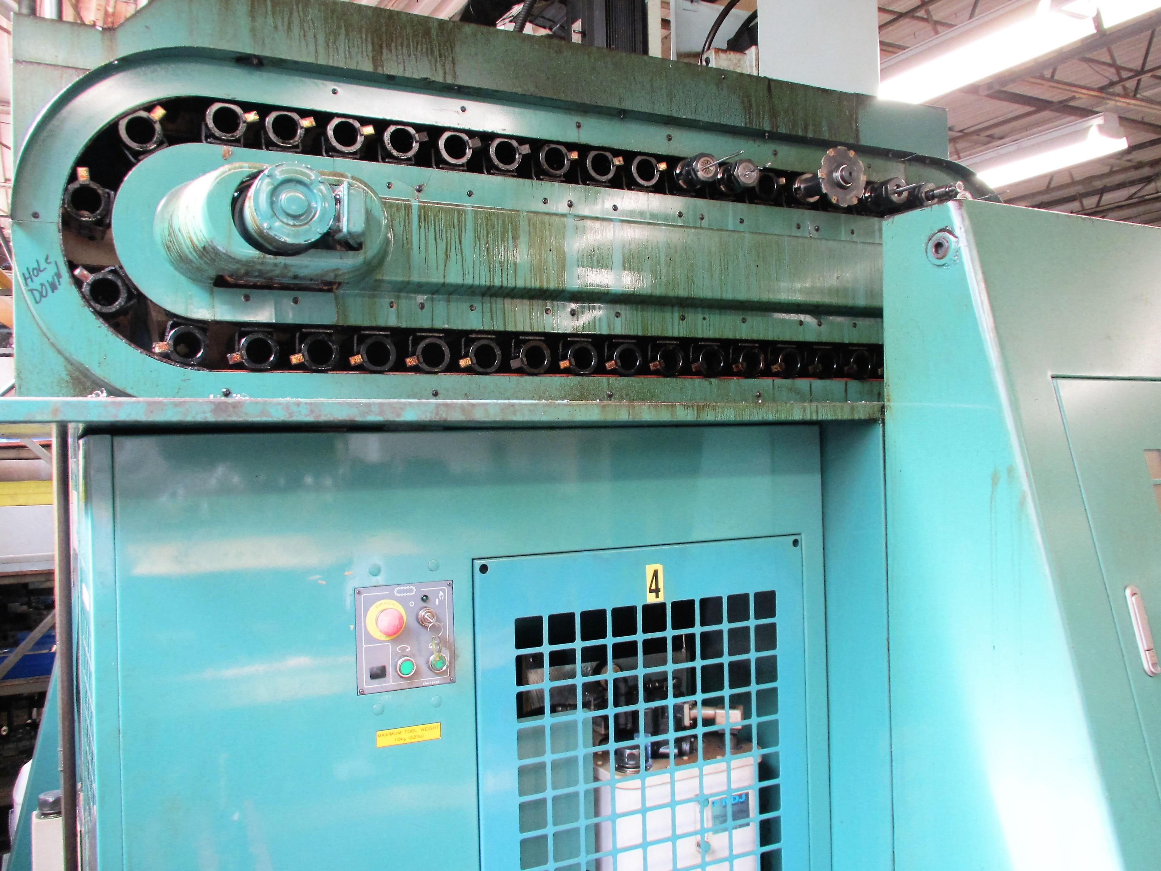 MATSUURA RA-4F CNC VERTICAL MACHINING CENTER WITH APC - Image 7 of 12