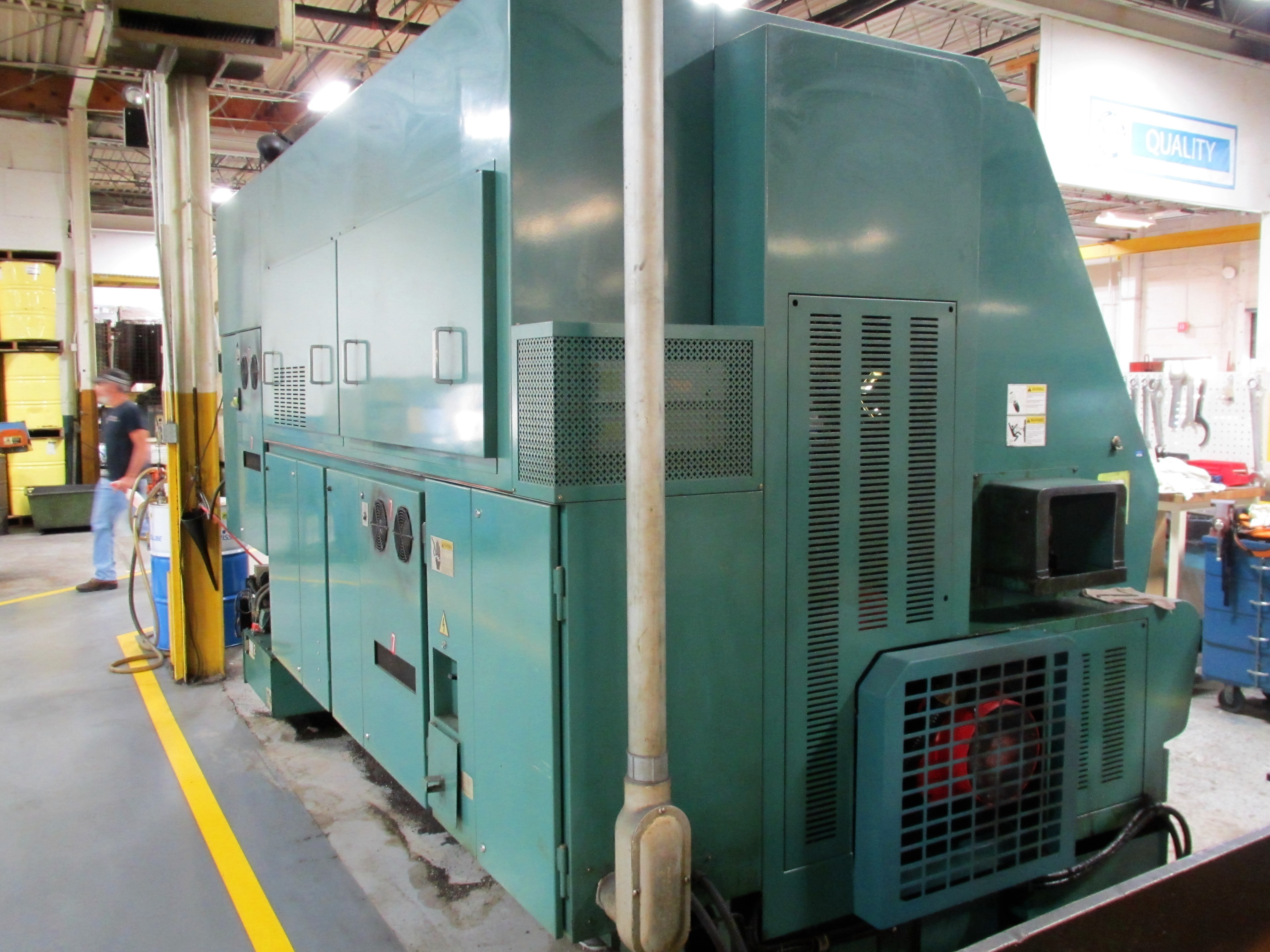 NAKAMURA TOME TW-30MM 7-AXIS CNC TWIN SPINDLE TURNING CENTER - Image 12 of 21
