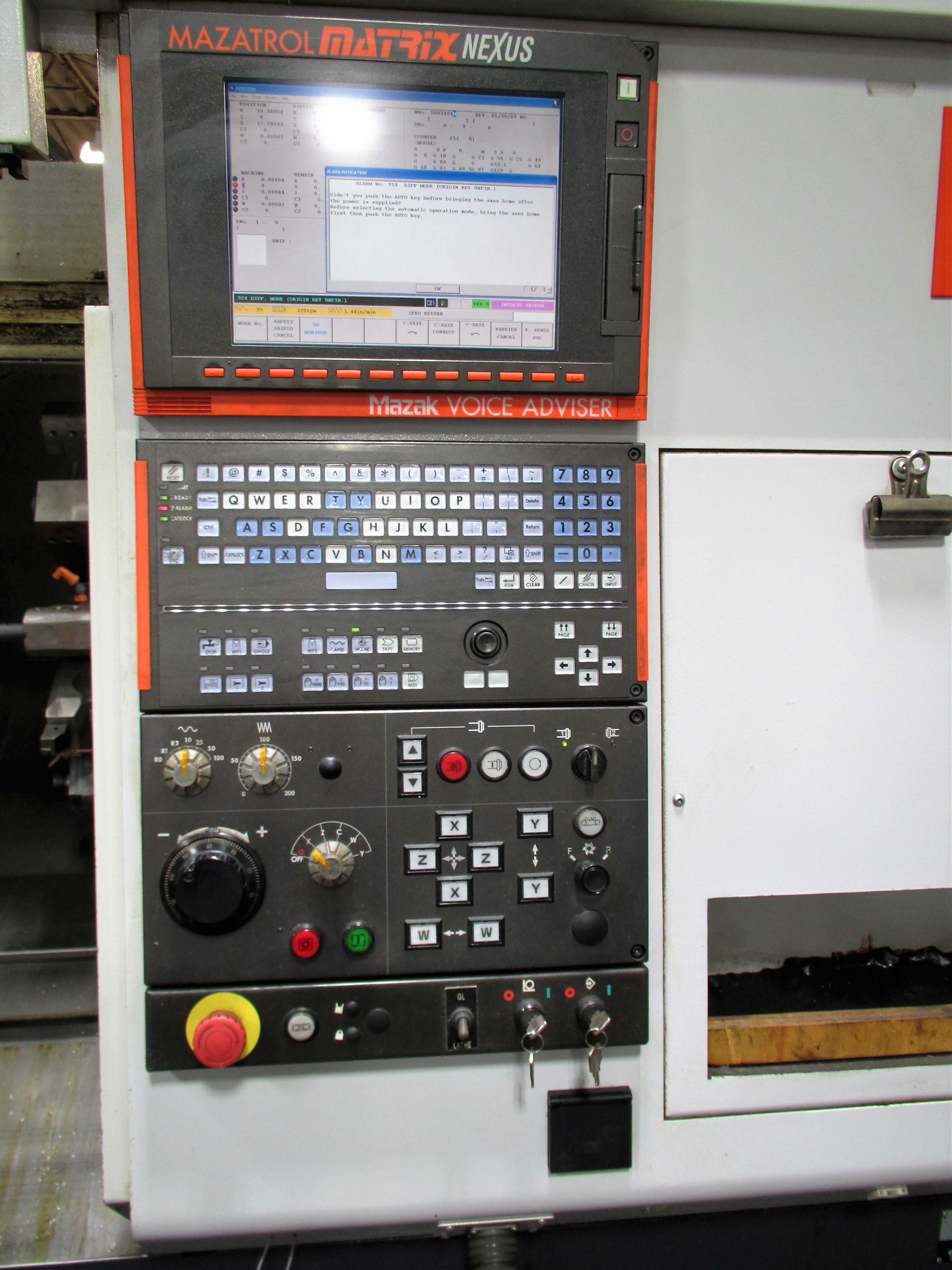 MAZAK QUICK TURN NEXUS 250-II MSY CNC TURNING CENTER - Image 4 of 16