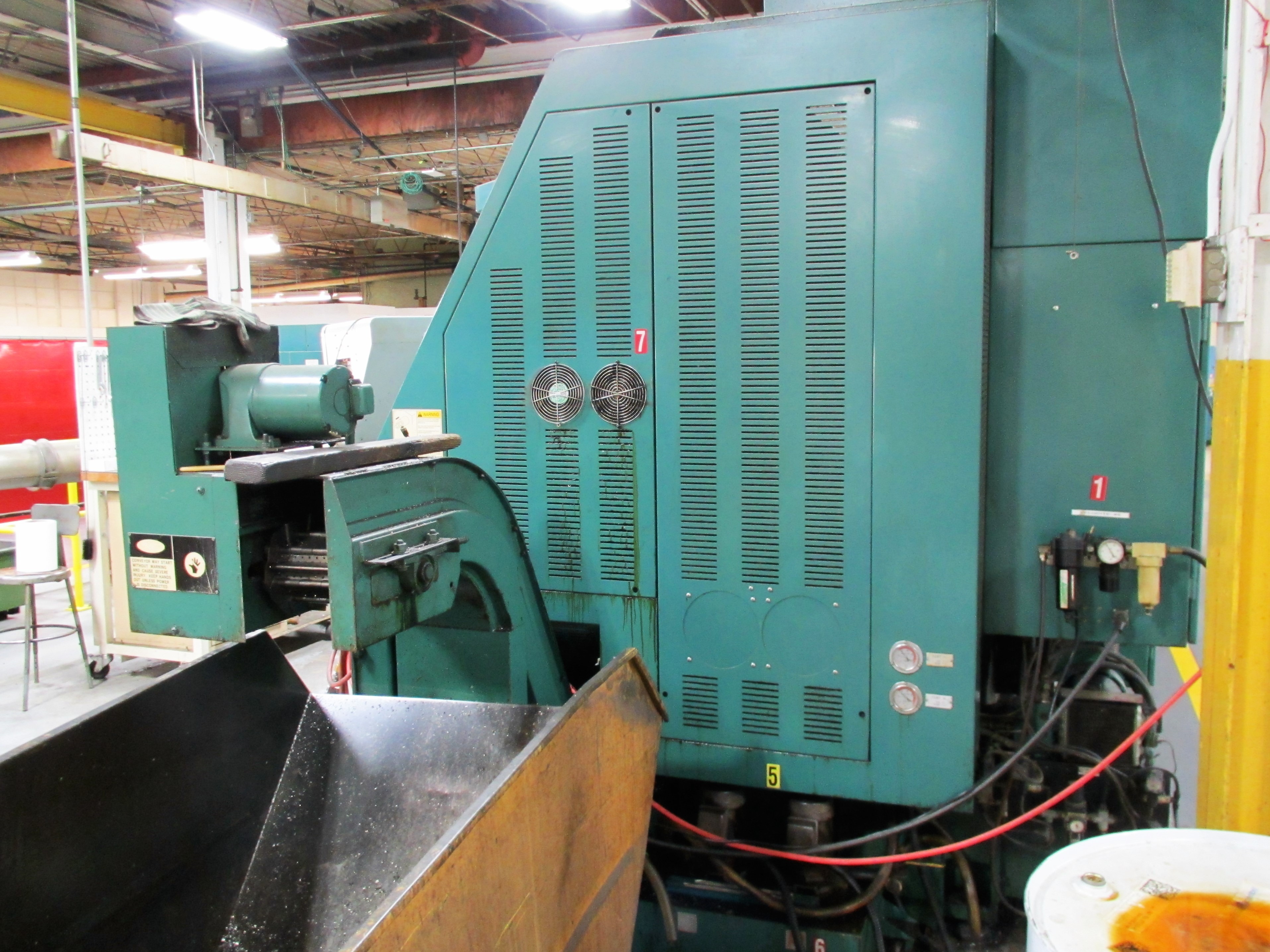NAKAMURA TOME TW-30MM 7-AXIS CNC TWIN SPINDLE TURNING CENTER - Image 13 of 21