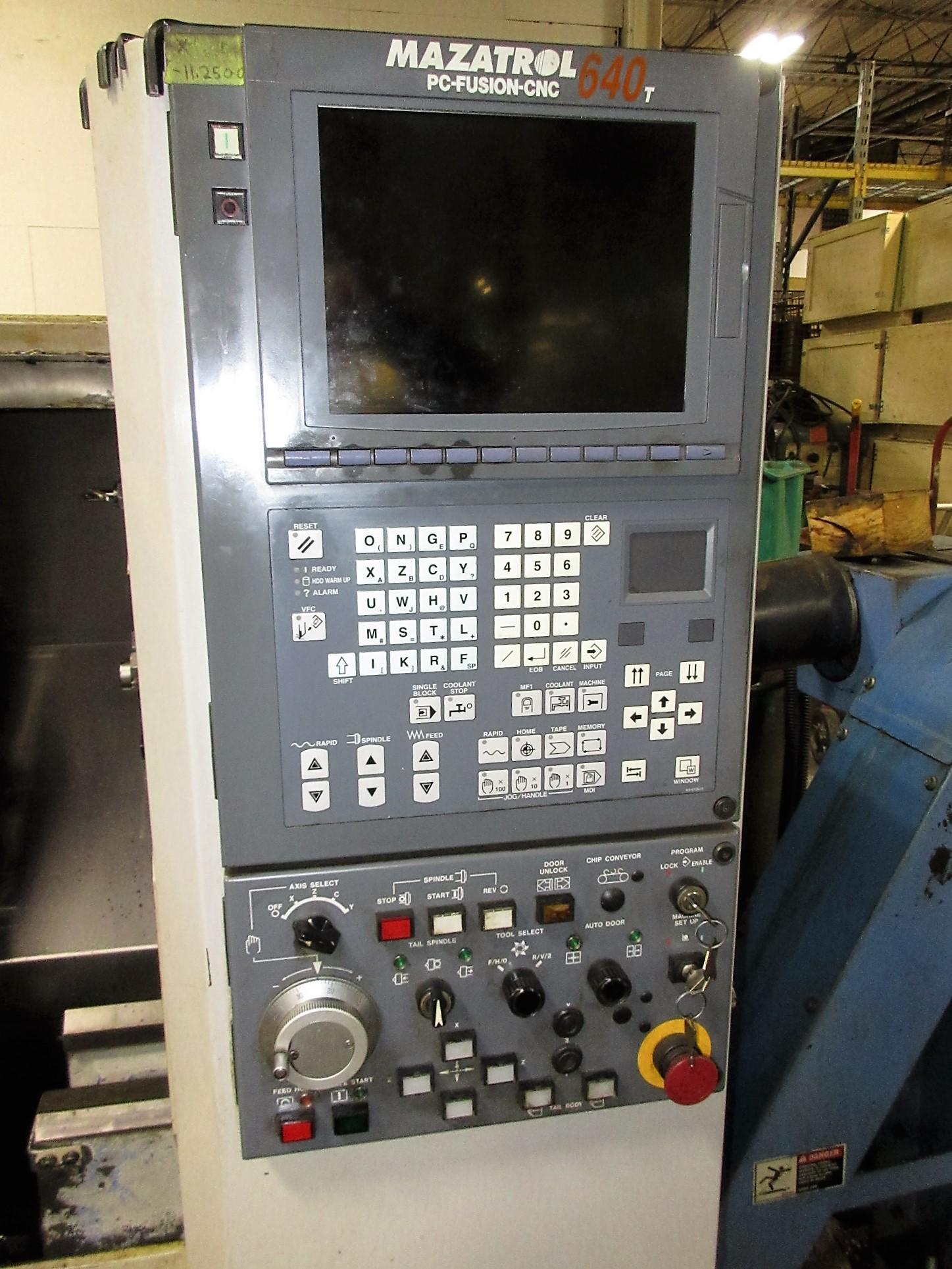 MAZAK QT-200 CNC TURNING CENTER - Image 2 of 14