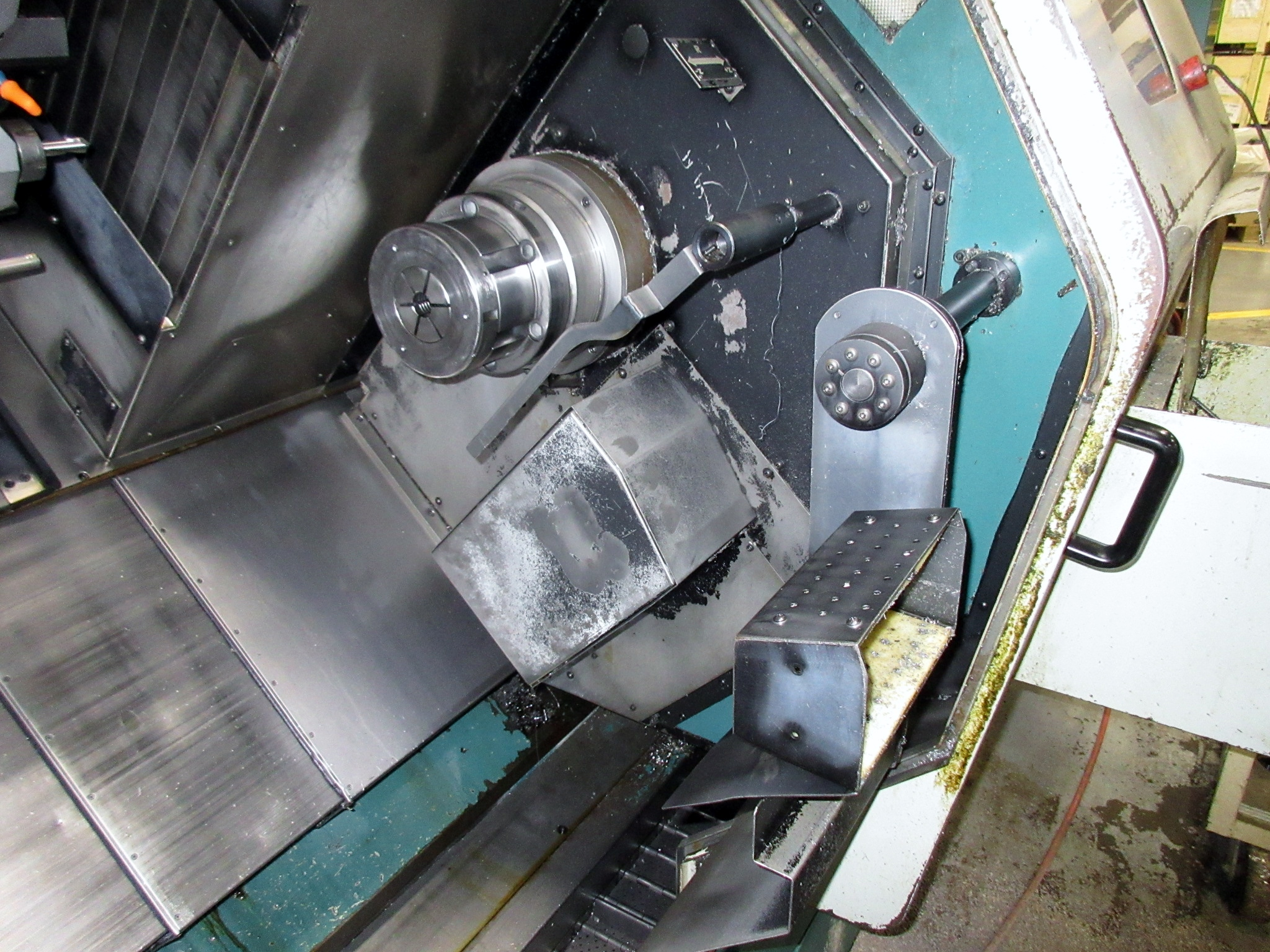 NAKAMURA TOME TW-30MM 7-AXIS CNC TWIN SPINDLE TURNING CENTER - Image 10 of 21