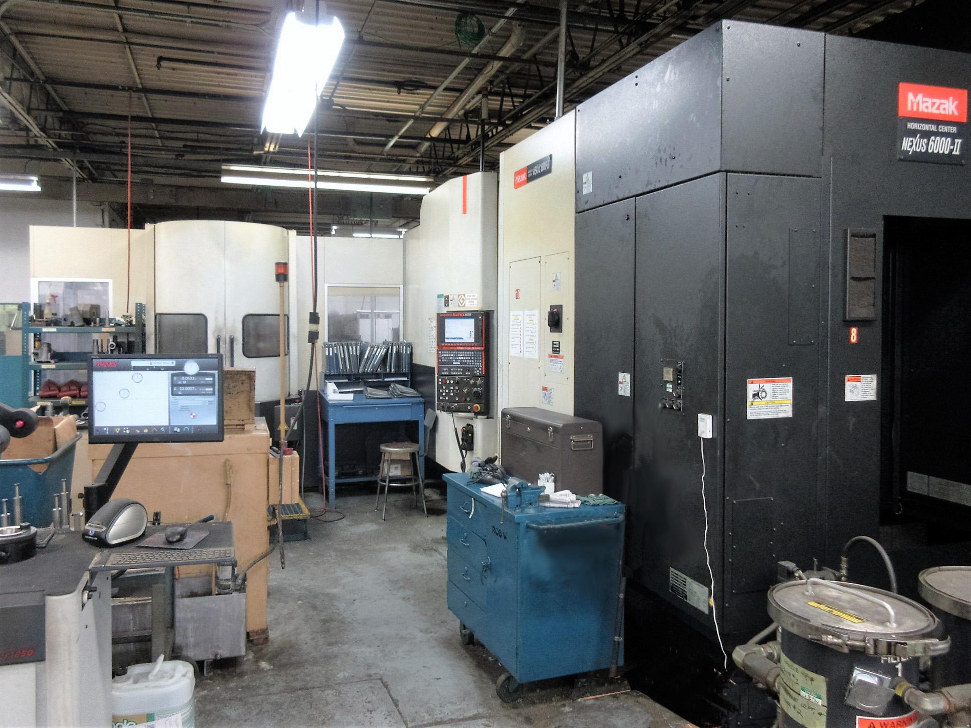 Mazak HCN-6000-II CNC Horizontal Machining Center With Palletech System - Image 18 of 22