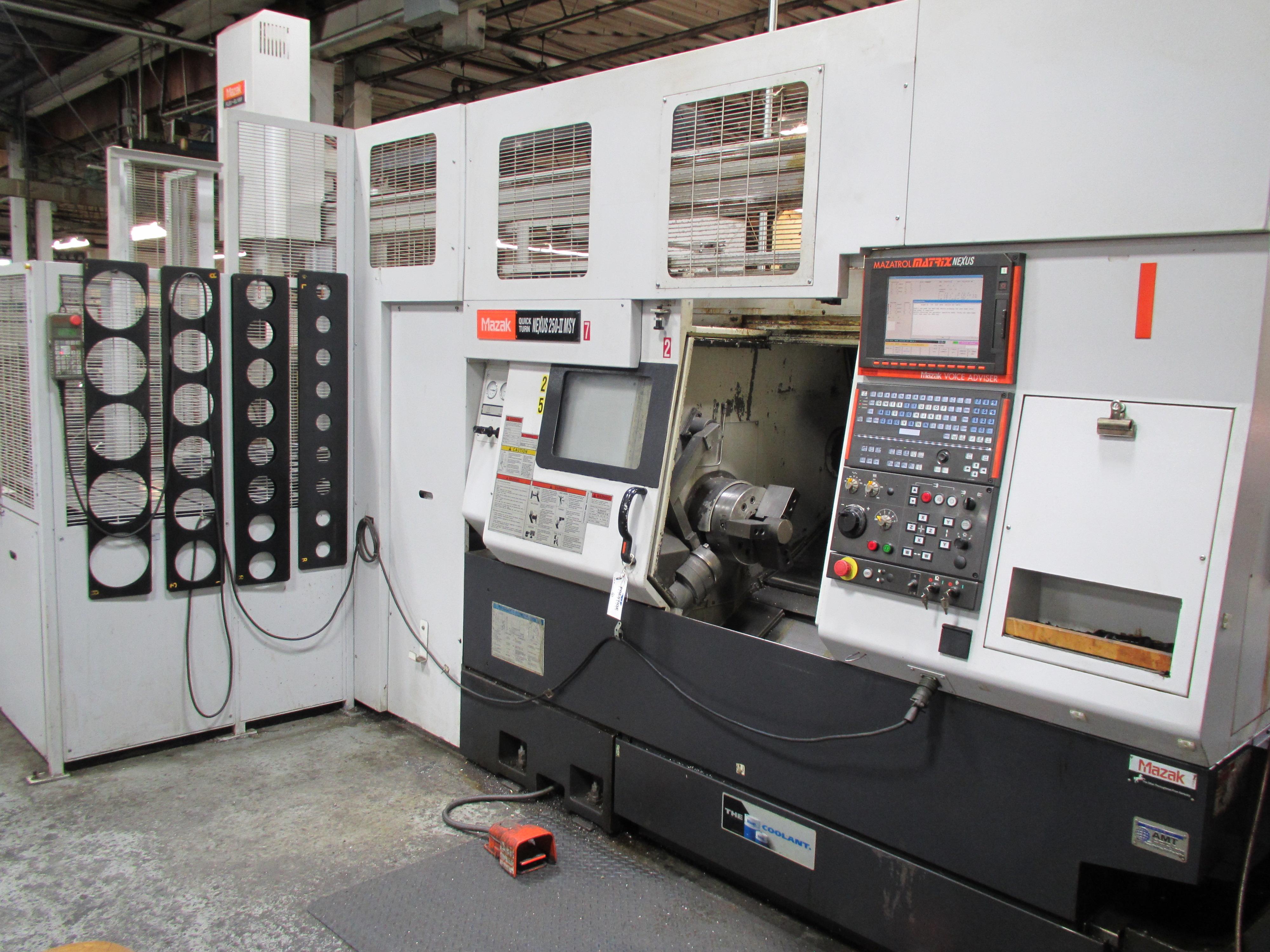 MAZAK QUICK TURN NEXUS 250-II MSY CNC TURNING CENTER - Image 3 of 16