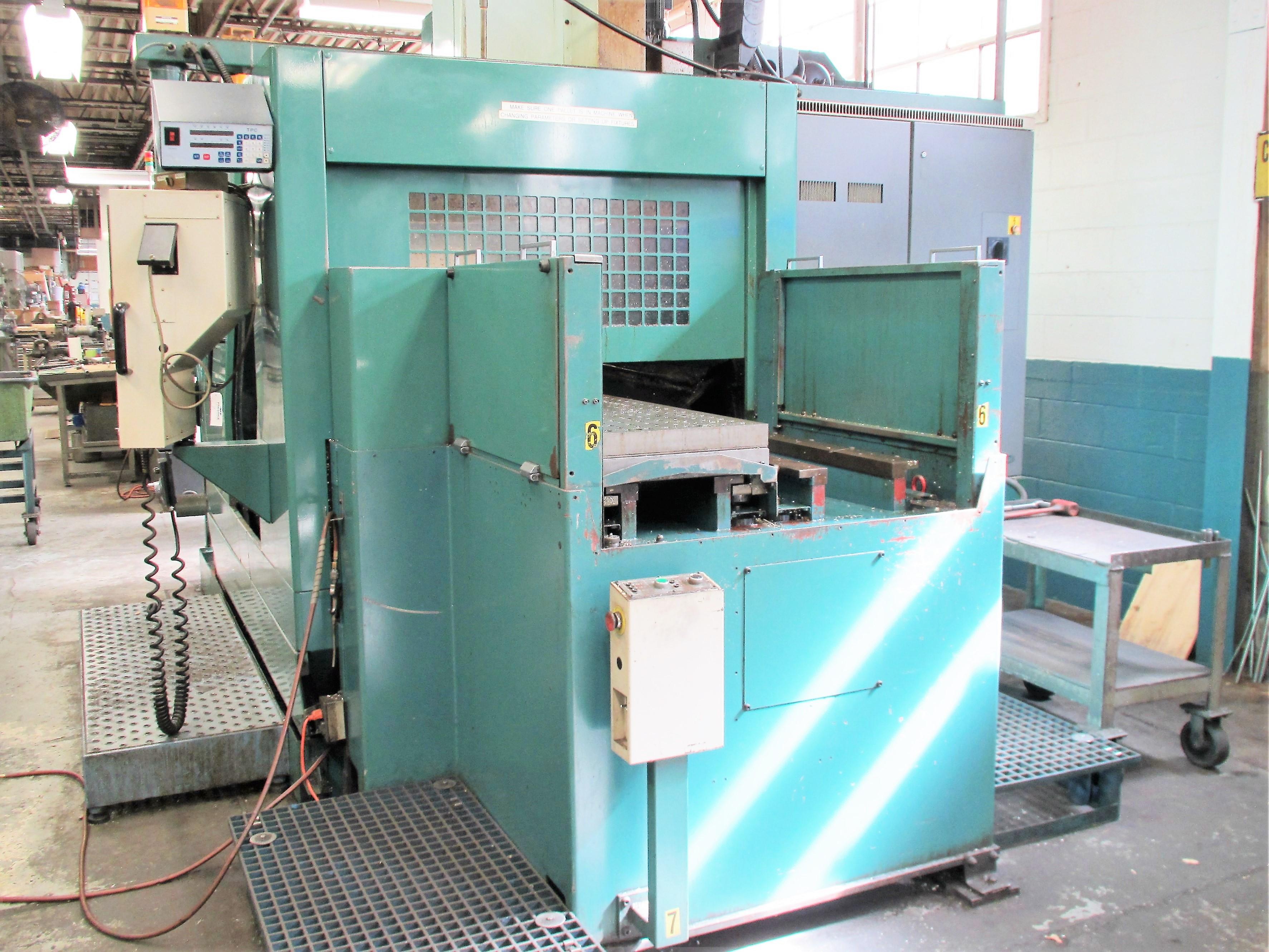 MATSUURA RA-4F CNC VERTICAL MACHINING CENTER WITH APC - Image 6 of 12