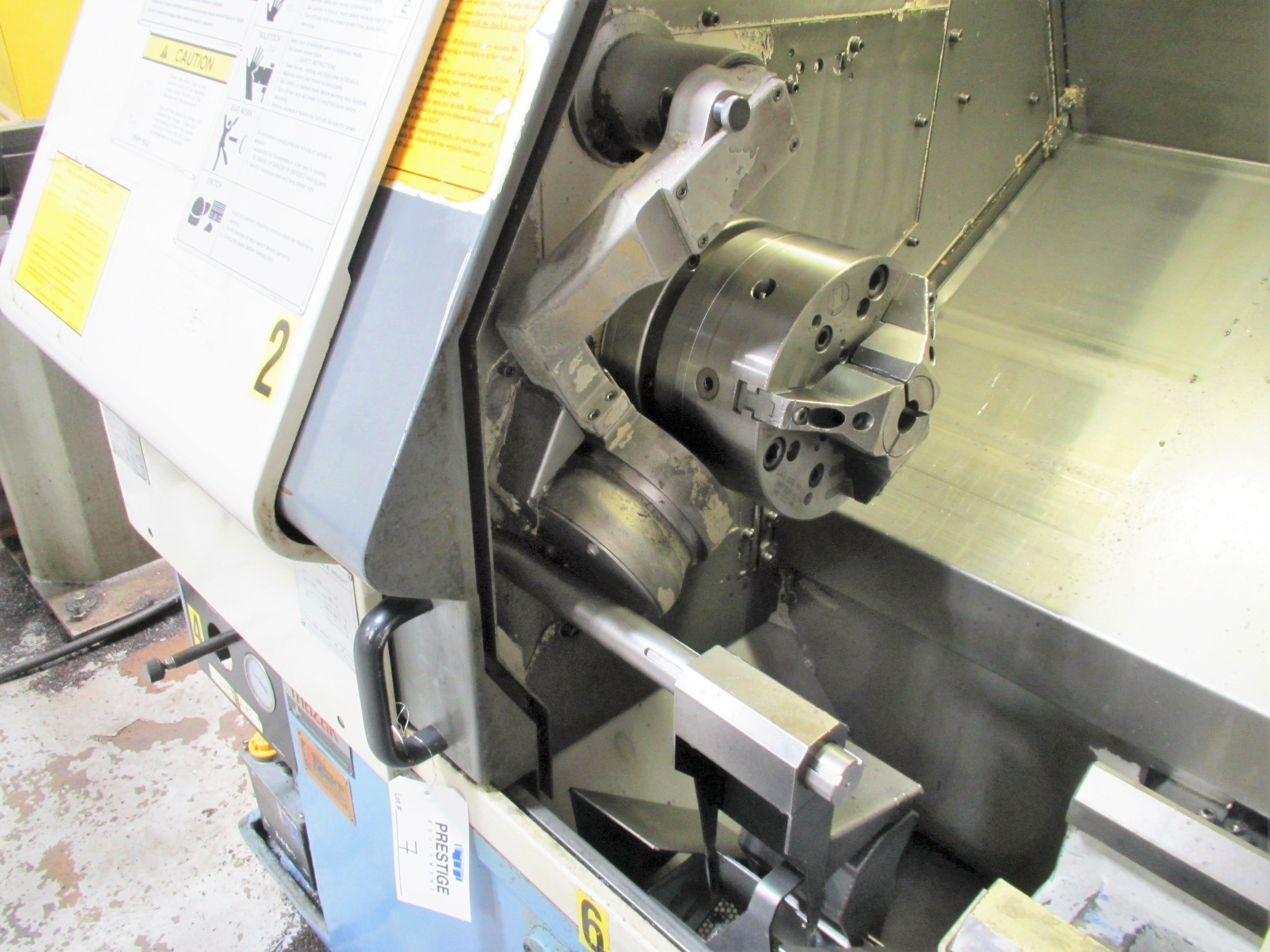 MAZAK QT-200 CNC TURNING CENTER - Image 4 of 14
