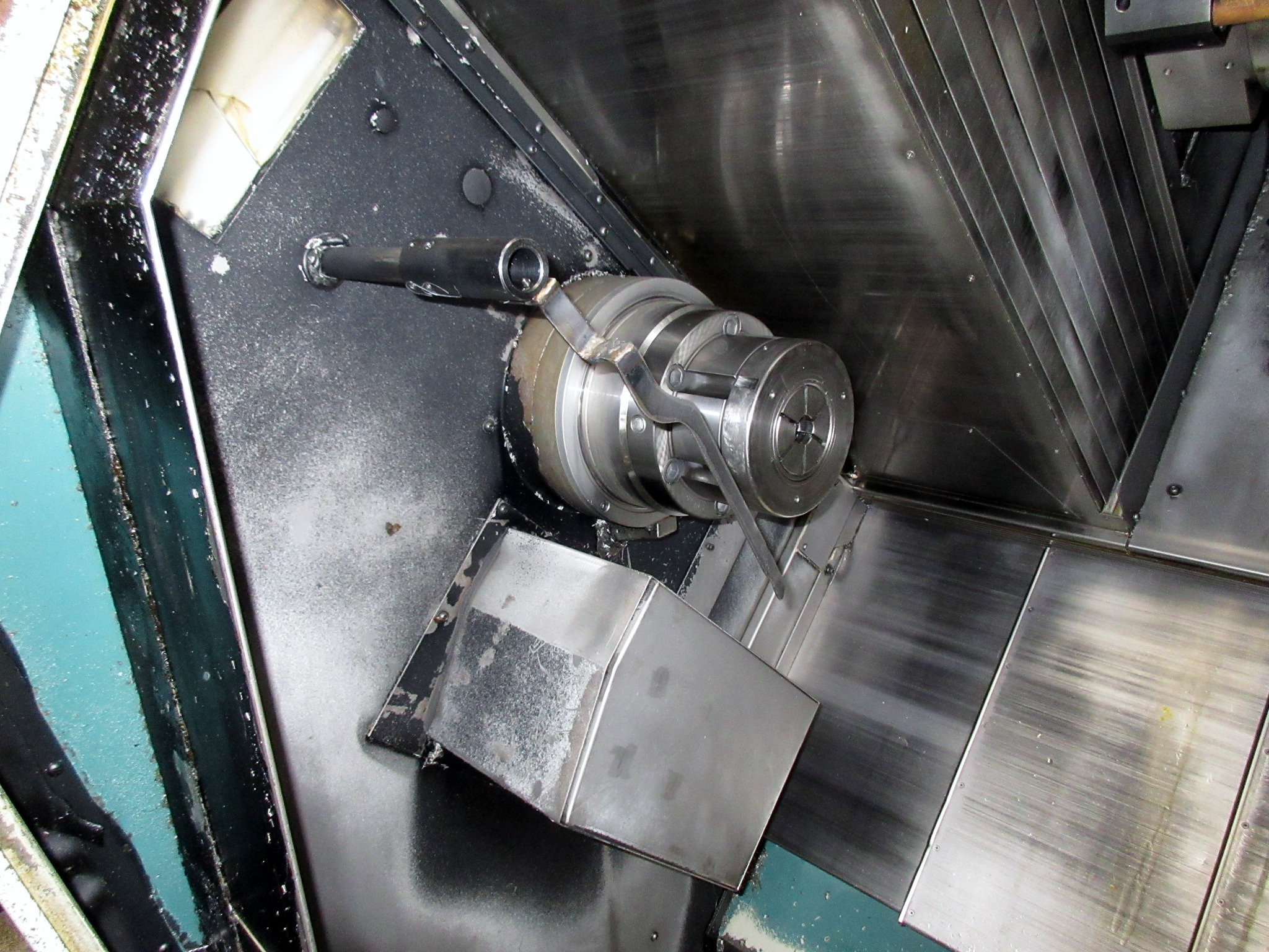 NAKAMURA TOME TW-30MM 7-AXIS CNC TWIN SPINDLE TURNING CENTER - Image 5 of 21