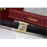 CARTIER - Tank Francaise 18k Gold (2385)