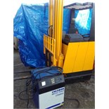 JUNGHEINRICH ELECTRIC REACH TRUCK FORKLIFT WITH CHARGER - NO VAT