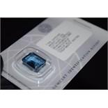 9.65CT BLUE SAPPHIRE - GCIR SEALED
