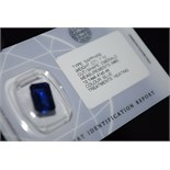 7.10CT BLUE SAPPHIRE - GCIR SEALED