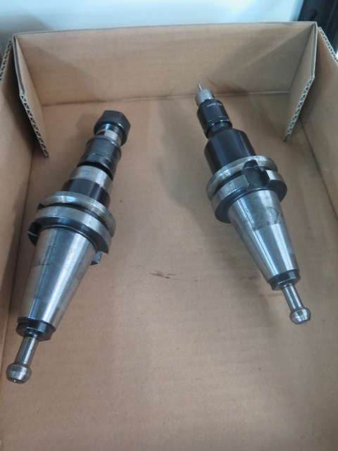 Lot 74 - BT-40 Taper Tapping Heads (2)