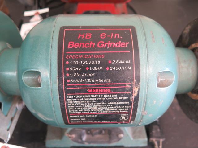 """Lot 86 - 6"""" Bench Grinder"""