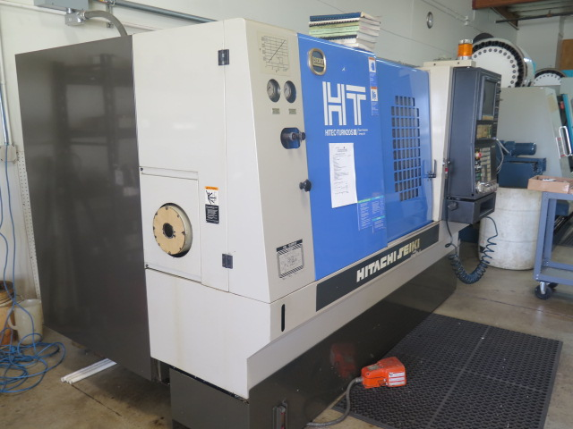 Lot 63 - Hitachi Seiki Hitec-Turn 20S III CNC Torning Center s/n HTS3006HL w/ Seicos L-Multi Controls, Tool