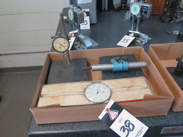 Gramite Indicator Bases and Dial Drop Indicators