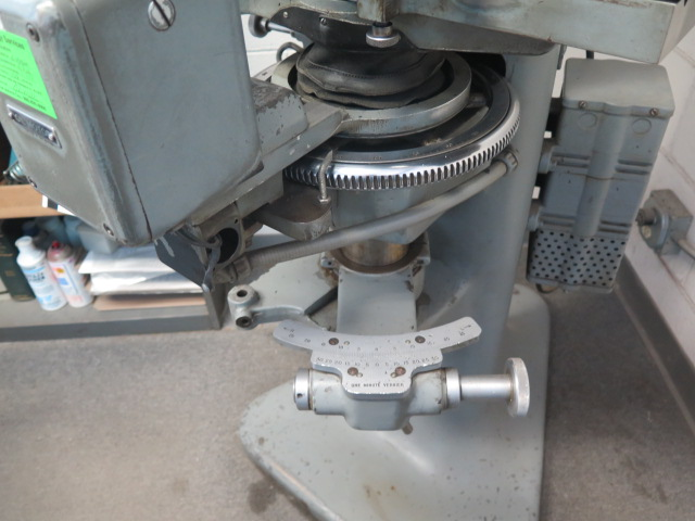 """J & L mdl. PC-14 Floor Model Optical Comparator w/ 6"""" x 30"""" Table and Acces - Image 5 of 6"""