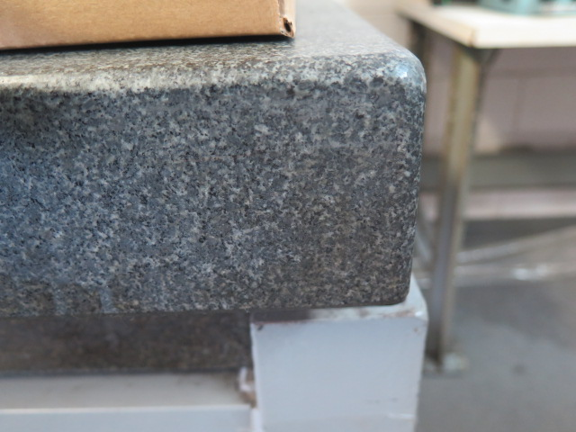 """Microflat 36"""" x 48"""" x 6"""" 2-Ledge Granite Surface Plate w/ Stand - Image 3 of 4"""