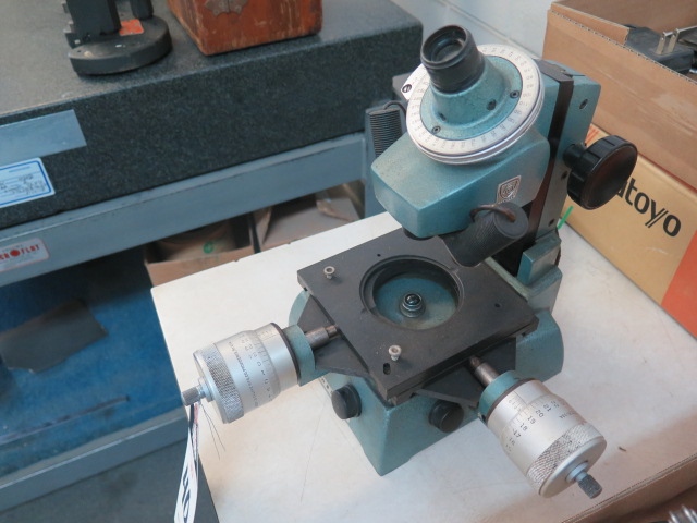 Brown & Sharpe Tool Makers Microscope - Image 3 of 4