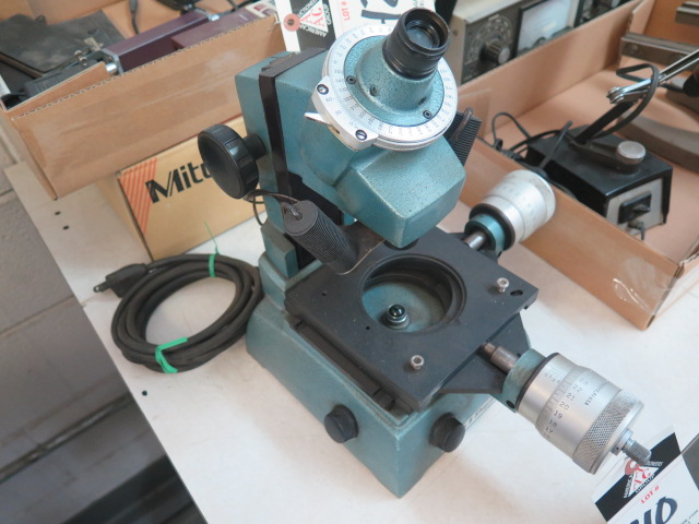 Brown & Sharpe Tool Makers Microscope - Image 2 of 4