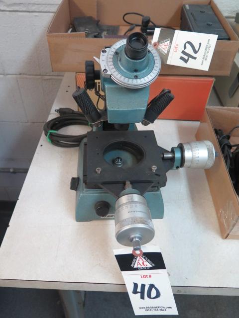 Brown & Sharpe Tool Makers Microscope