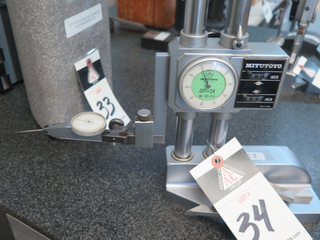 """Mitutoyo 24"""" Dial Height Gage - Image 2 of 2"""