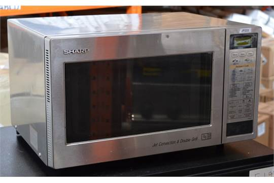 1 X Sharp R 83stm Jet Convection Amp Double Grill 900w Microwave