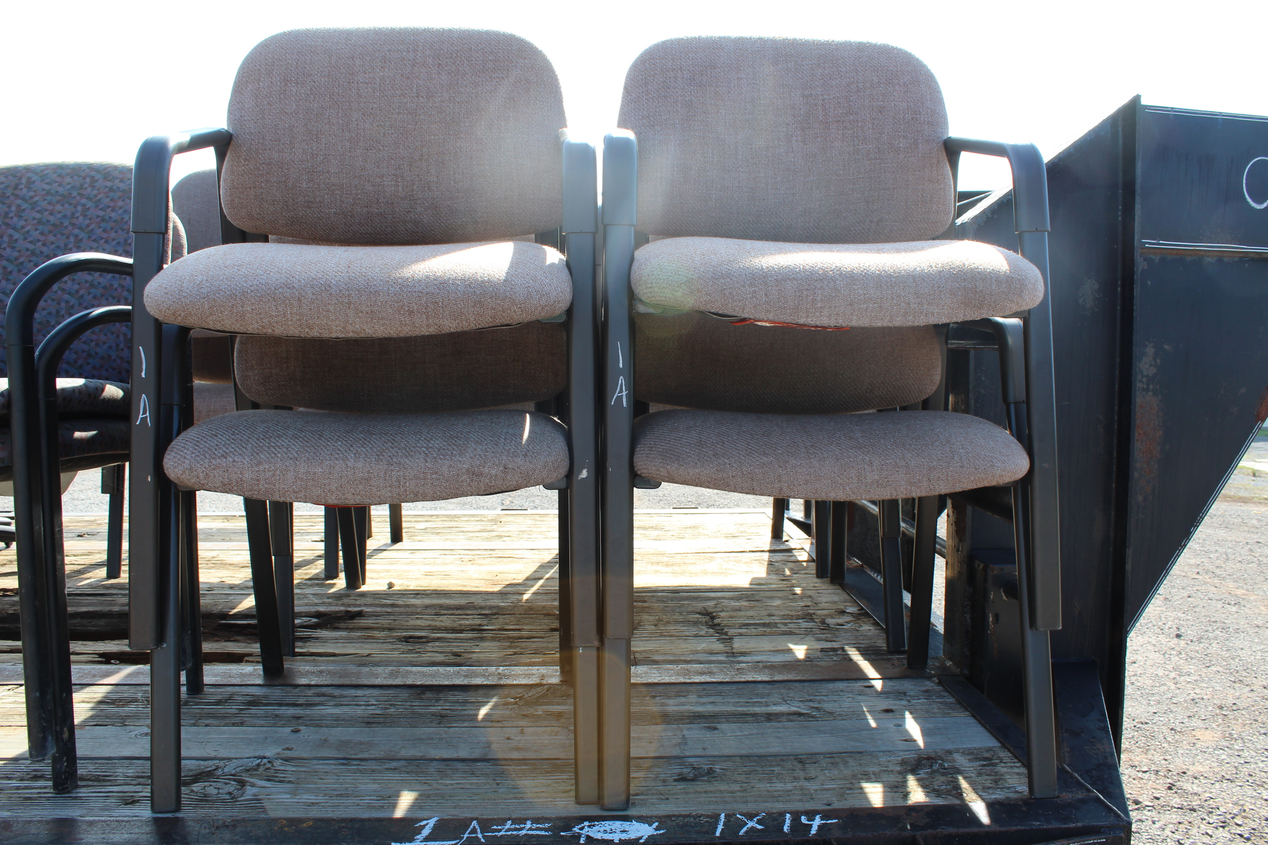Lot 1A - (14) CHAIRS