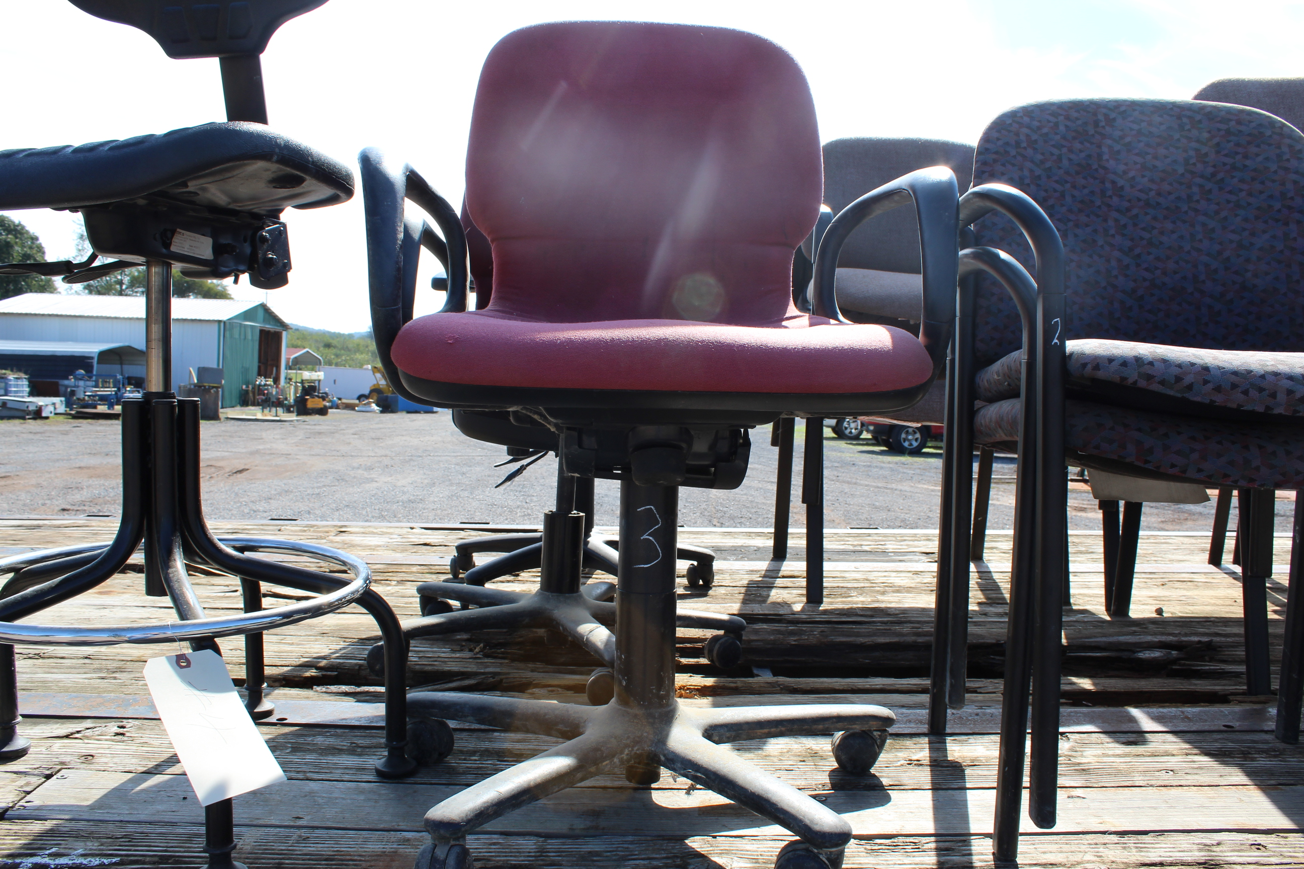 Lot 3 - (3) OFFICE CHAIRS