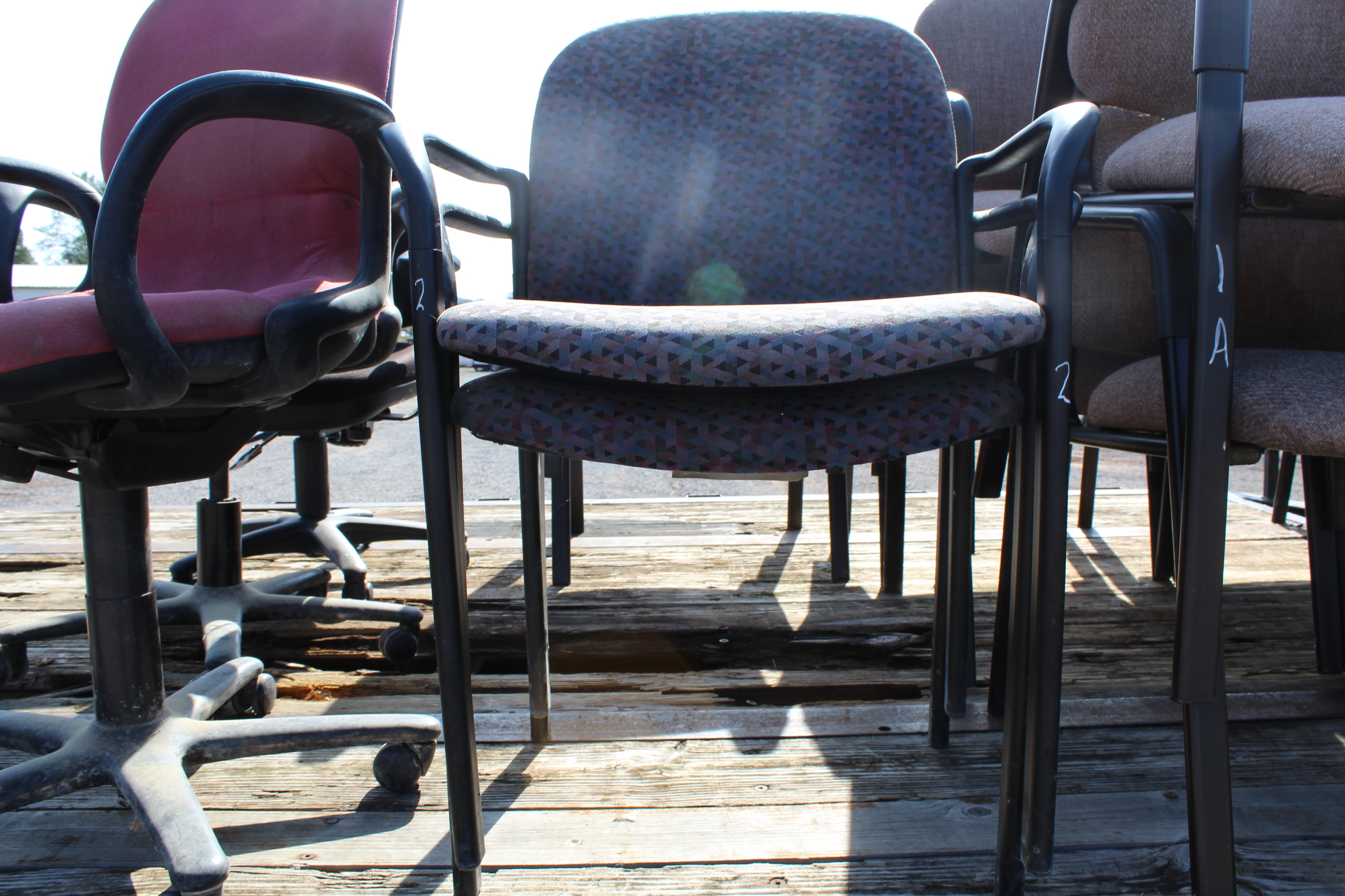 Lot 2 - (2) CHAIRS