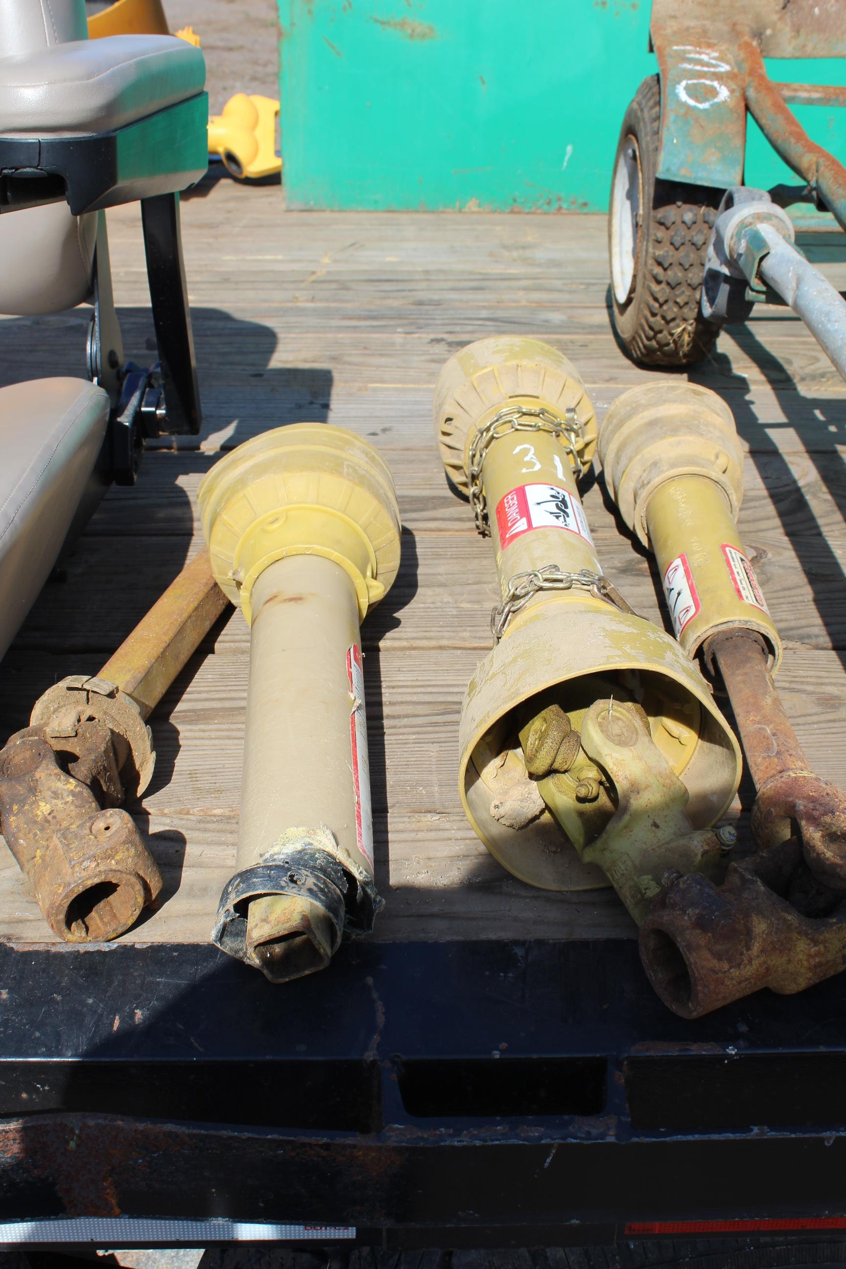 Lot 31 - PTO SHAFTS
