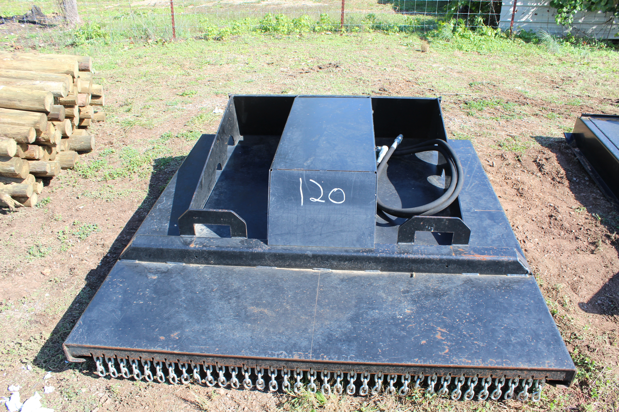 Lot 120 - USED 5' SKID STEER BUSH HOG