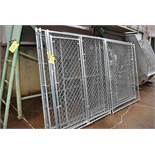 Kennel Panel Chain Link Fence, Item #171-1674, Loading Fee: $100