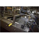 "Custom Designed Leader Stainless Steel 48"" W x 10' L Pinch Roller Tag Remover, Loading Fee: $500"