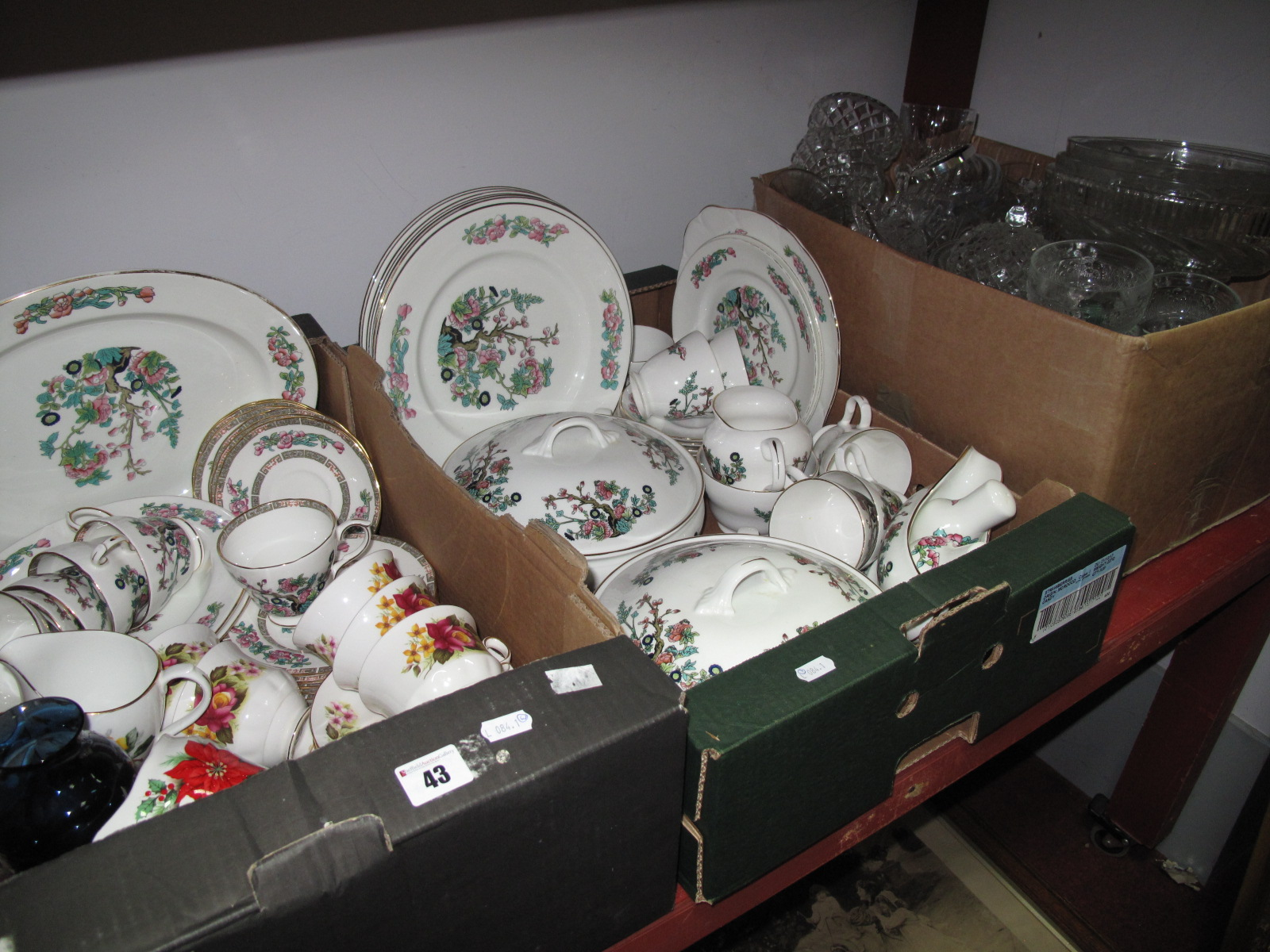 Lot 43 - A Quantity of Matched 'Indian Tree' Pattern Tea and Dinner Wares, (Duchess china included) of