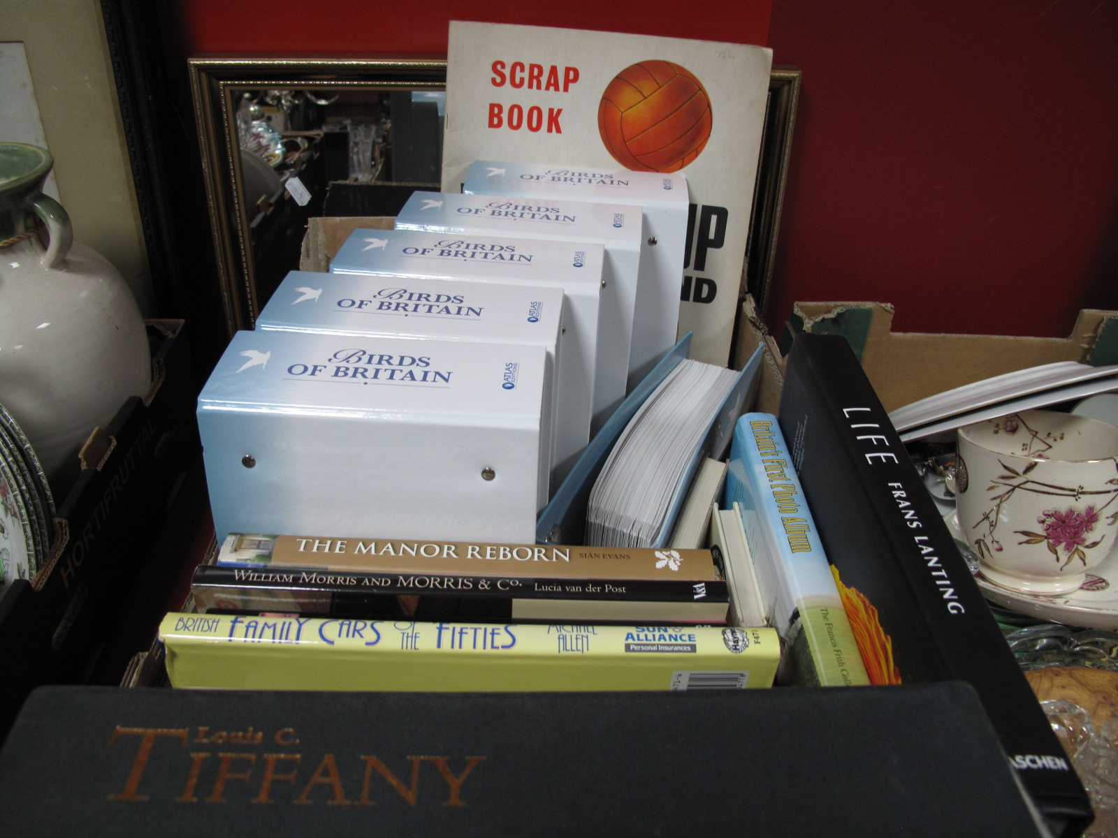 Lot 15 - Louis C. Tiffany, William Morris, The Oldest Sheffield Plater, other books, Atlas Editions Birds