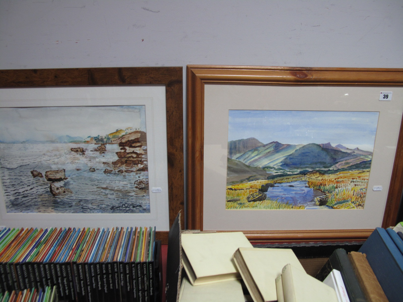 Lot 39 - Ruth Lamb (Sheffield Artist) Seven Watercolours, to include 'Welsh Landscape', 'Autumn Glory', '