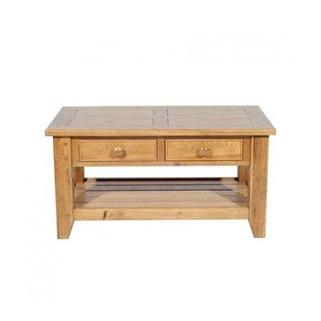 Lot 331 - Wentworth Nibbed Oak Coffee Table A solid, durable coffee table with bags of character 90 x 50cm